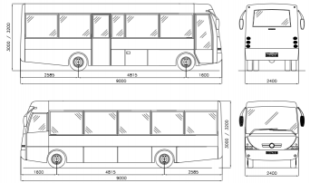 Bus Dimensions Images Galleries With A Bite